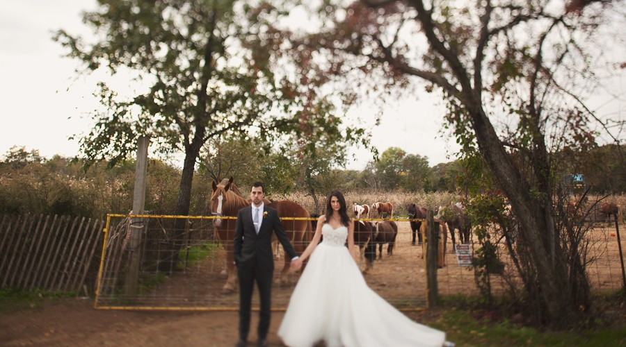 Queens County Farm Museum Wedding // Diane+Jason