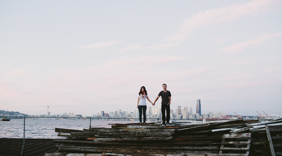 Seattle Engagement Photographer // Lauren+Dan