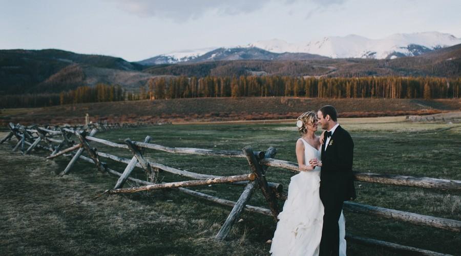 Devils Thumb Ranch Wedding // Jessica+Zach // Denver Wedding Photographer