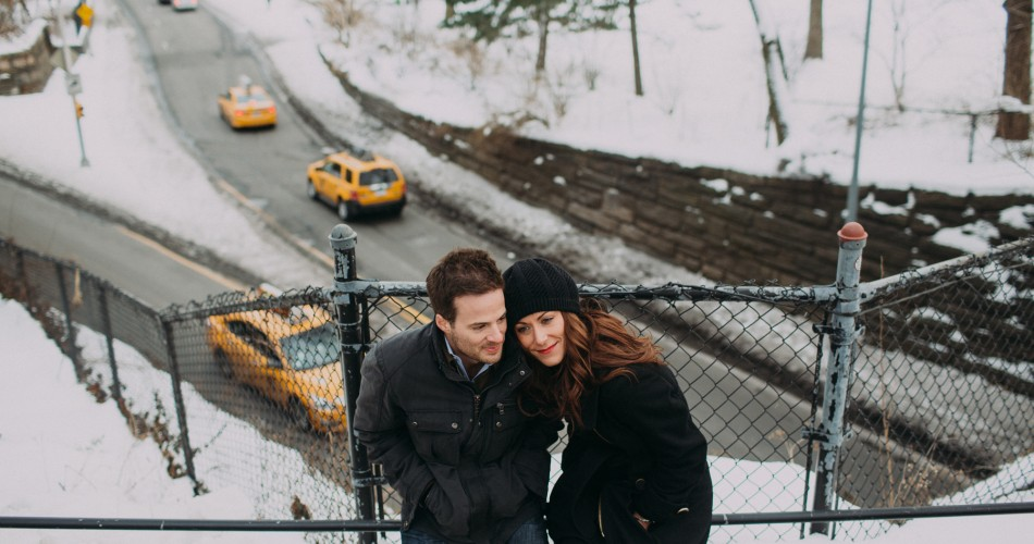 Manhattan Engagement Photos // Jessalyn+Rob
