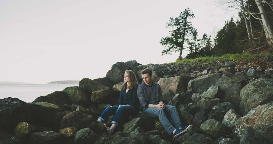 Washington Engagement Photographer // Lauren+Jamie // Kingston, WA