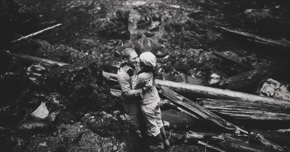 Portland Oregon Engagement Photographer // Columbia Gorge Proposal Photos