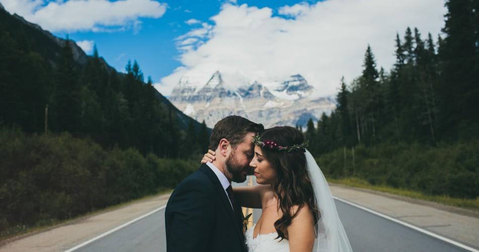 Camping Weddings // Kathy+Kevin // Canadian Rockies