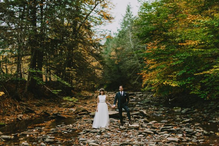 Full Moon Resort Wedding // New York Wedding