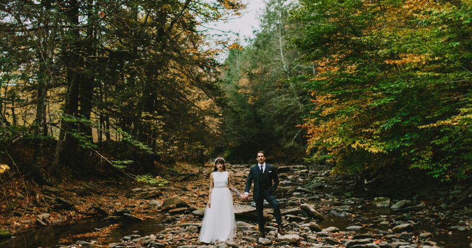 Full Moon Resort Wedding // New York Wedding