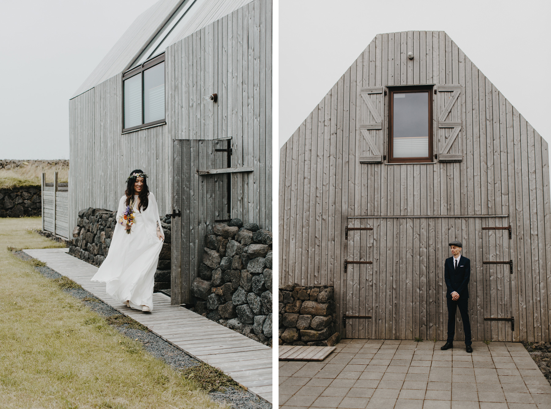 Iceland Elopement First Look