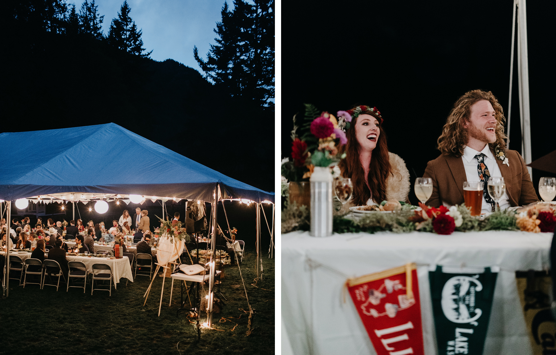 lake crescent wedding
