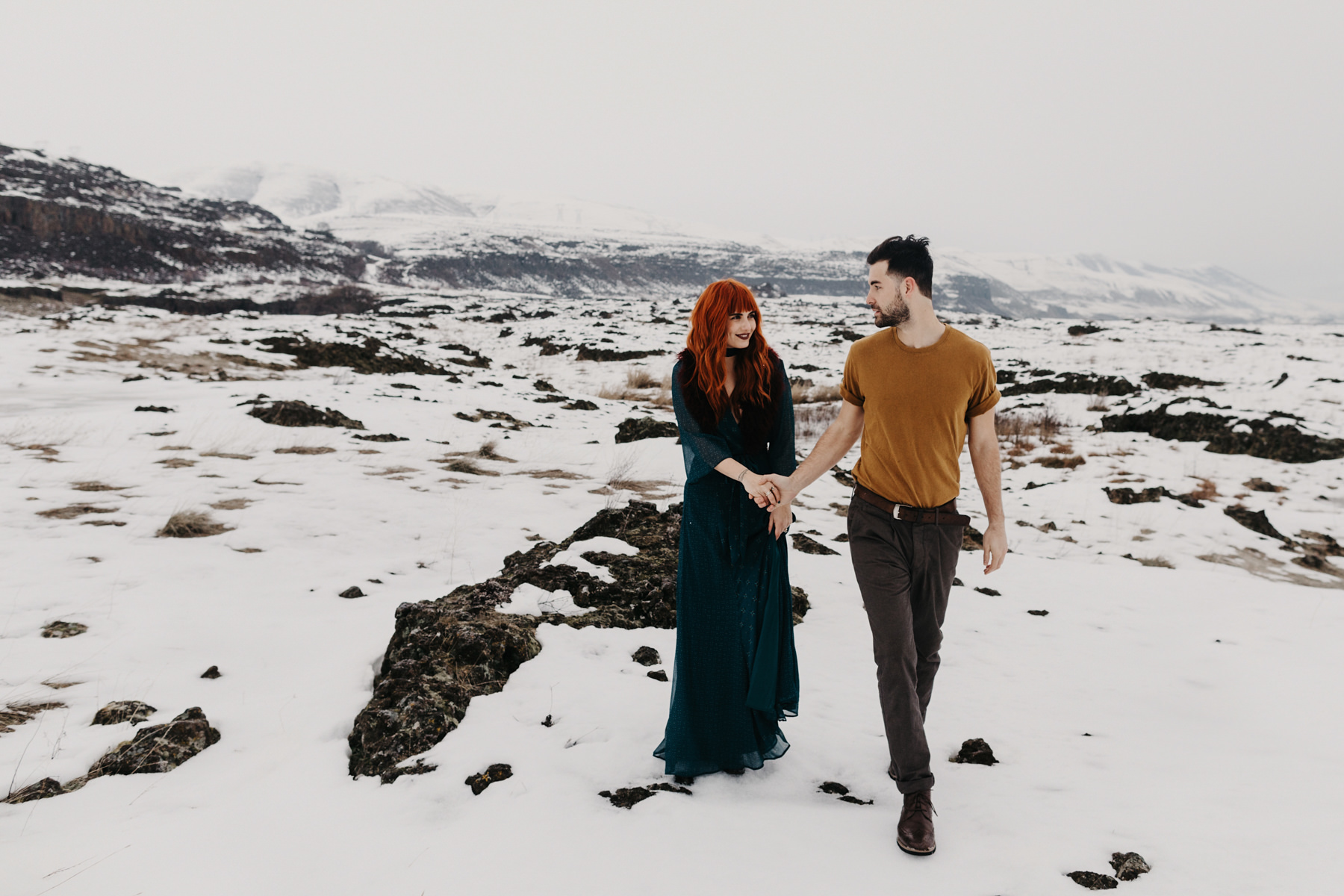Winter Engagement Photos 1