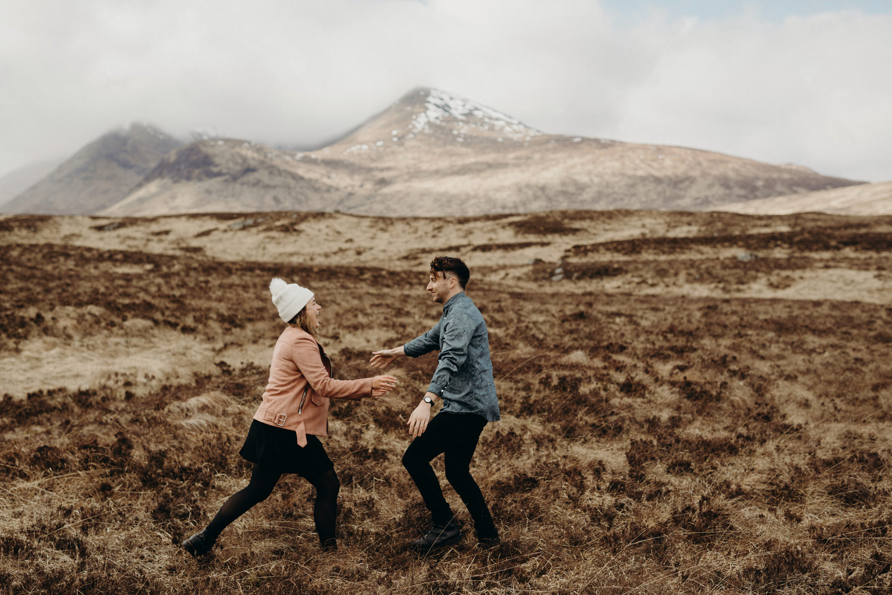 Scottish Highlands Engagement Photos
