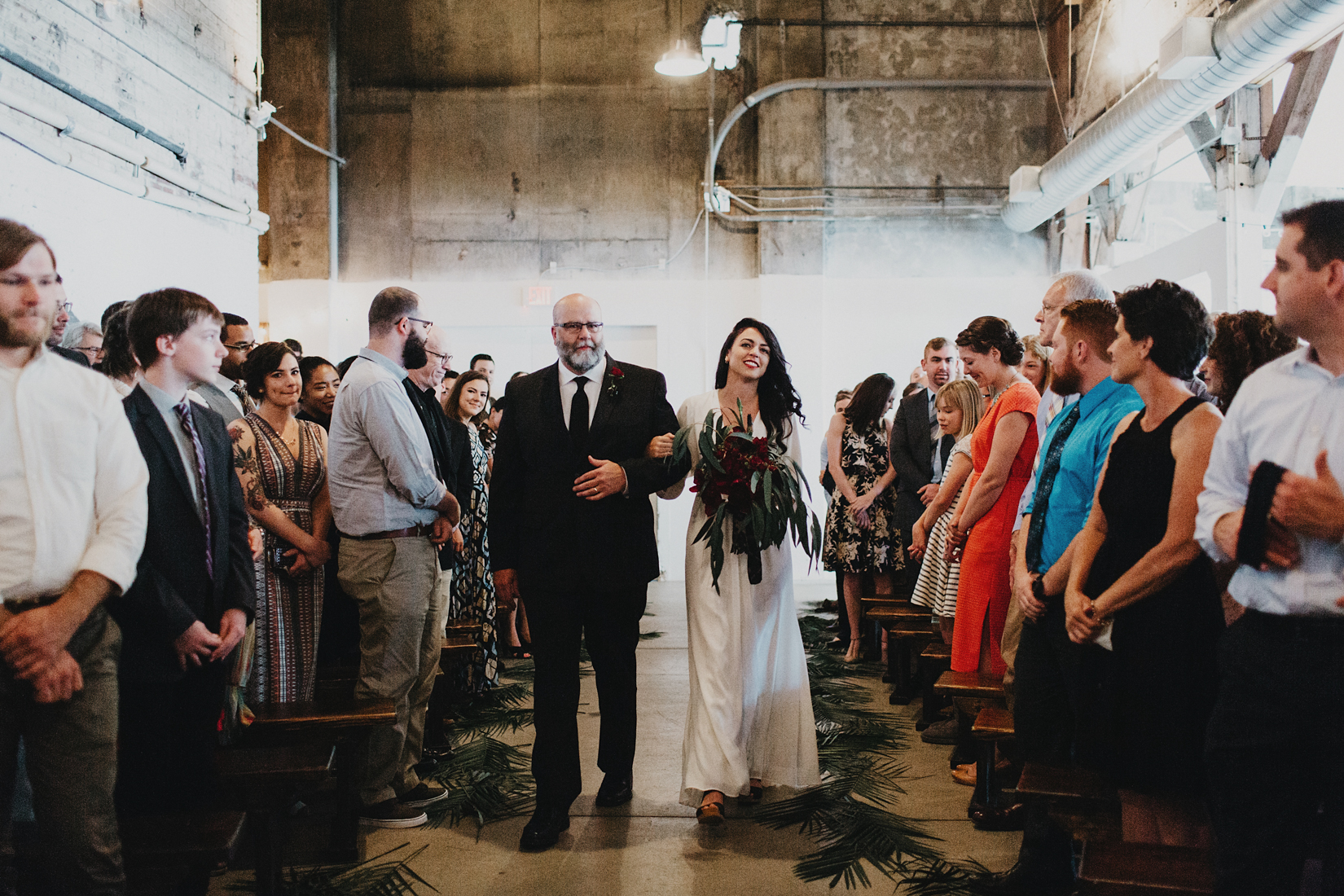 Warehouse Wedding in Portland -117