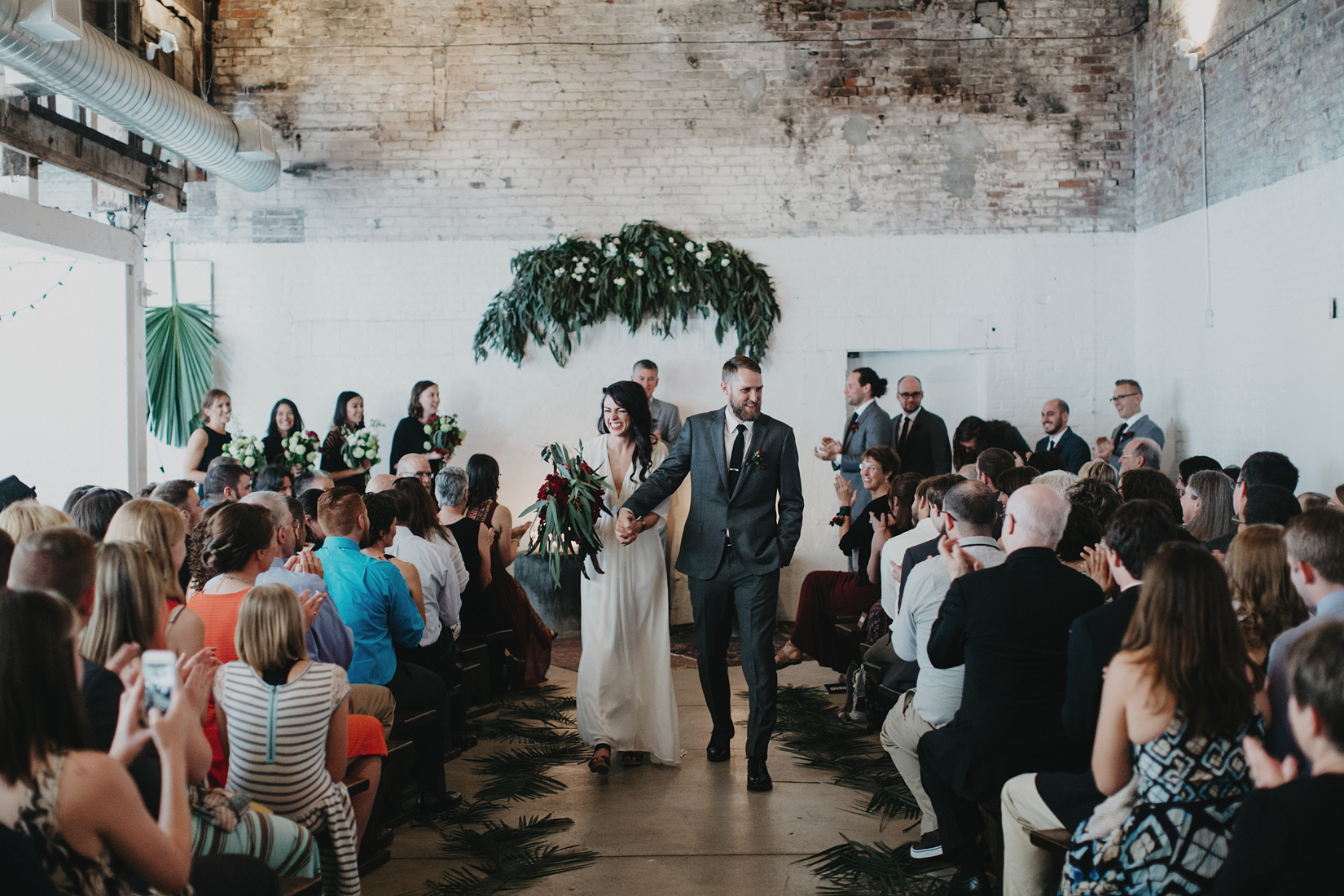 Warehouse Wedding in Portland -146