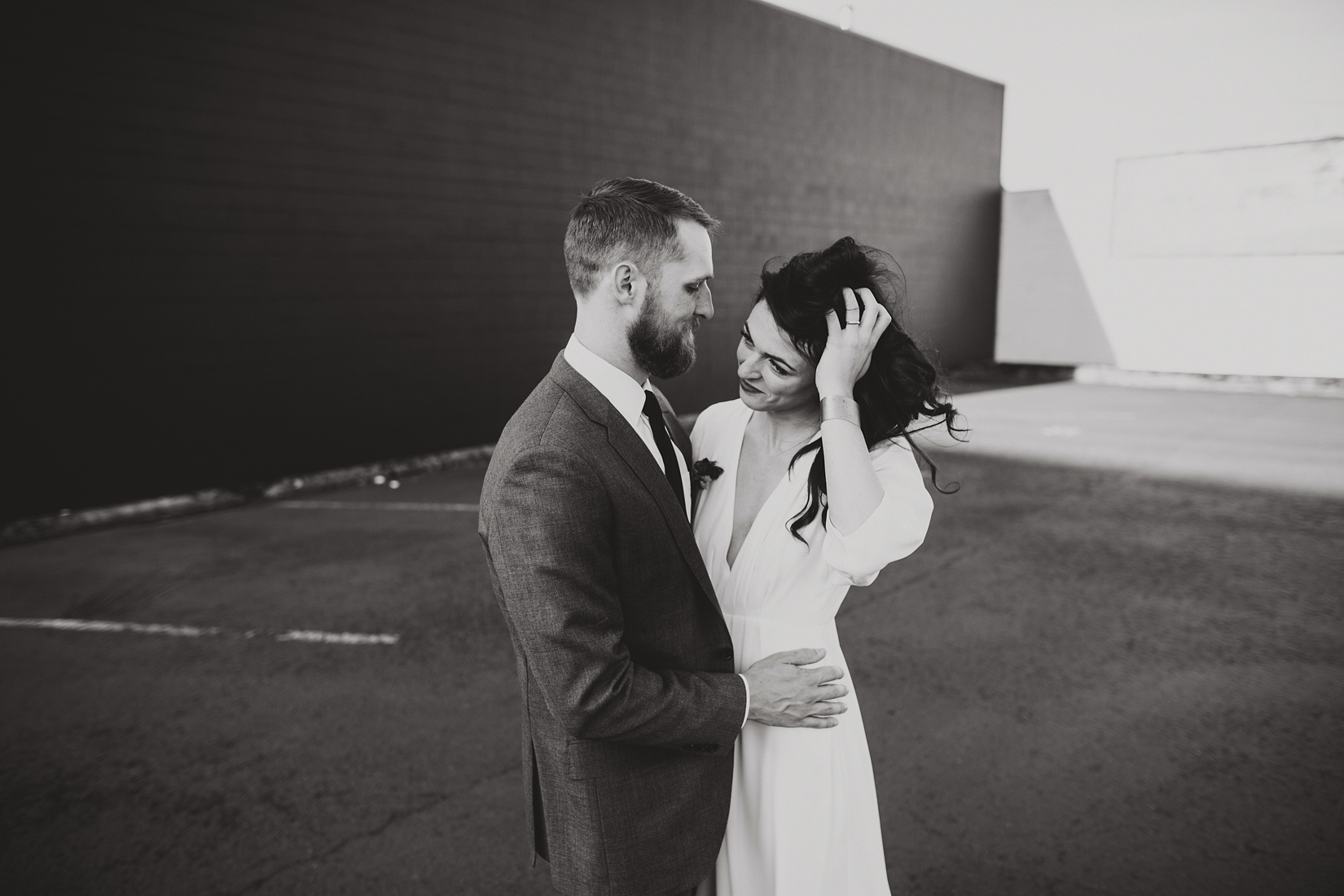 Warehouse Wedding in Portland -166