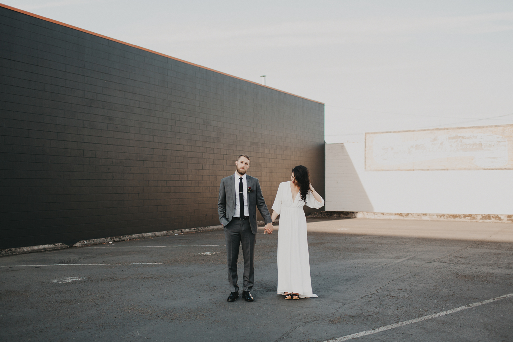 Warehouse Wedding in Portland -169