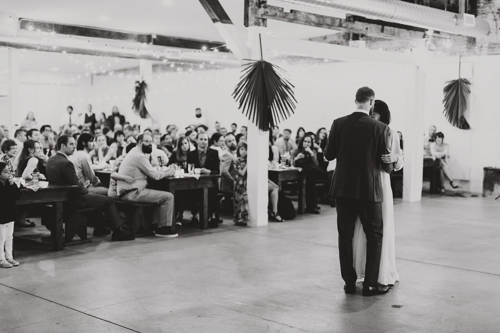 Warehouse Wedding in Portland -209