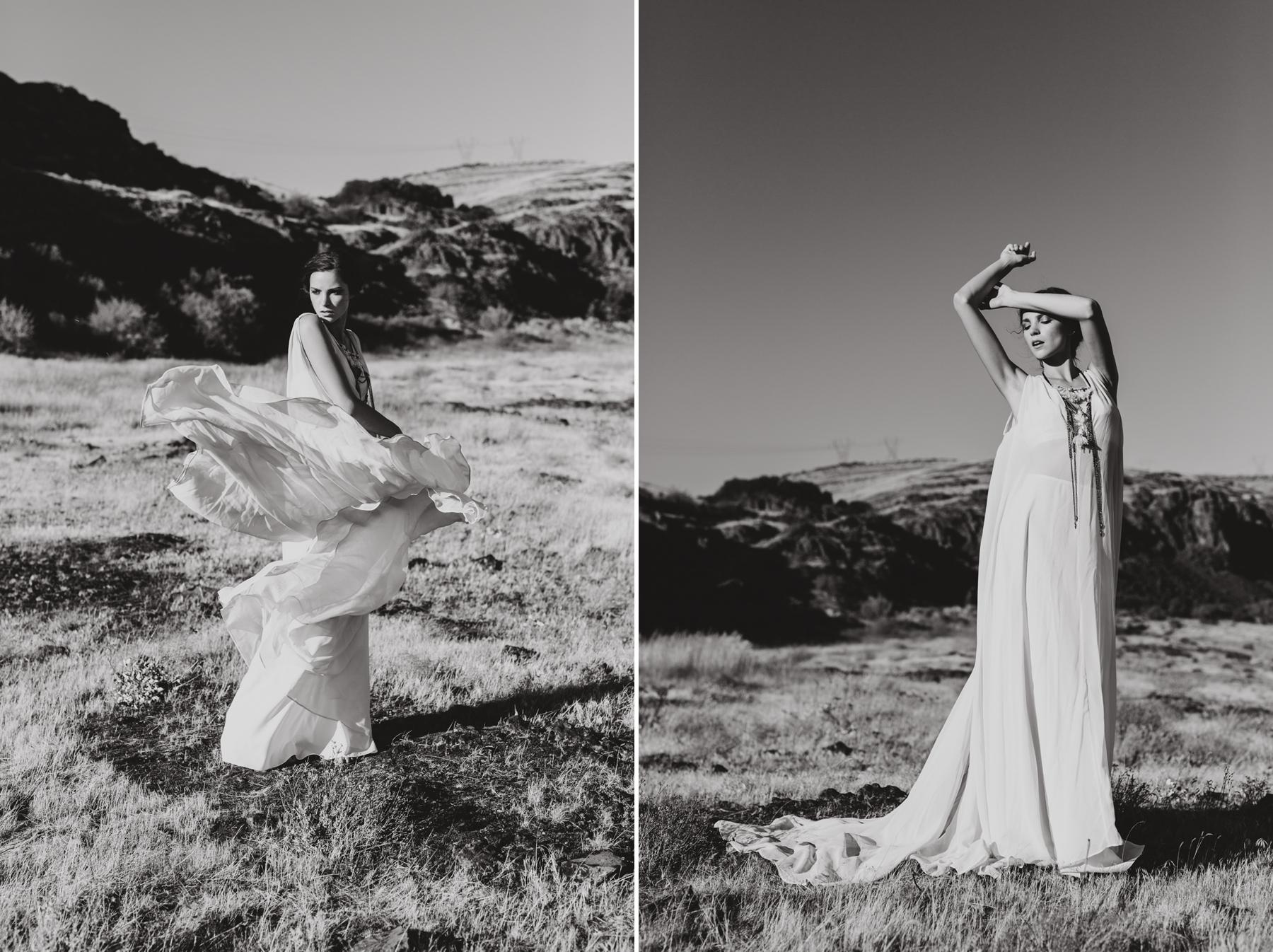 The new wedding dress collection from Portland designer Elizabeth Dye