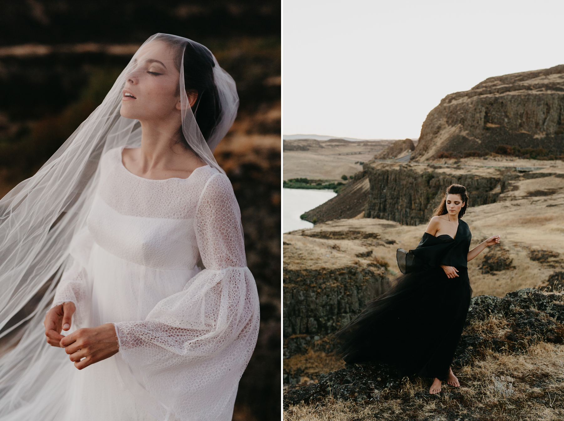 The new bridal dress collection from Elizabeth Dye