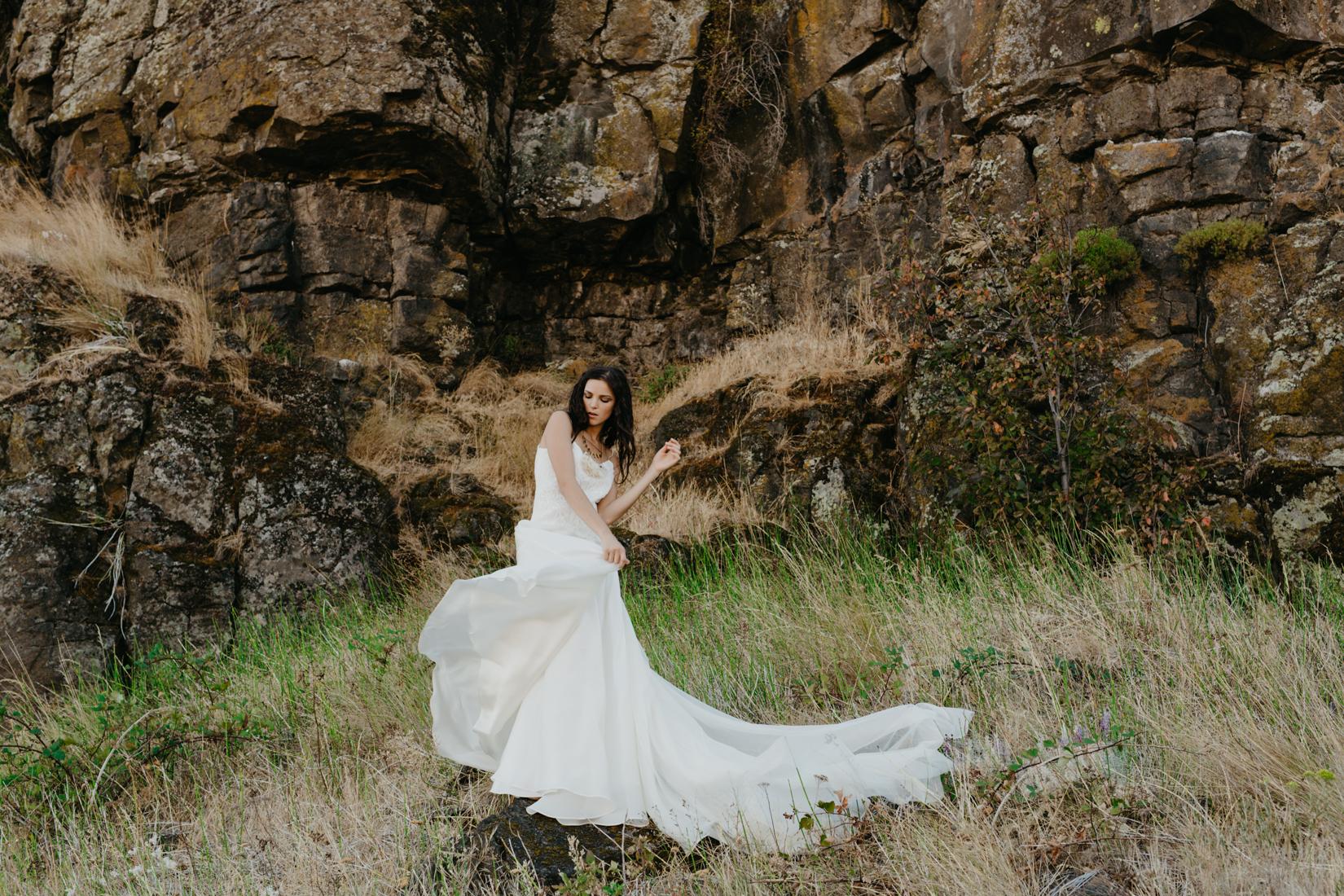 Beautiful new wedding dress from Elizabeth Dye