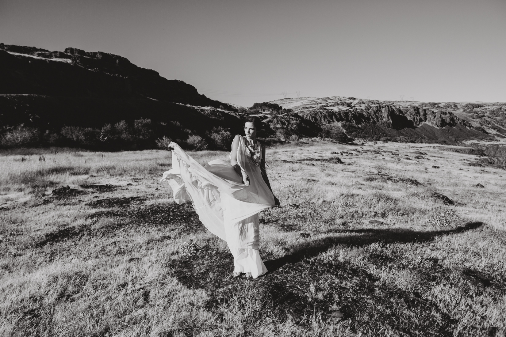 Portland wedding dress designer Elizabeth Dye's new bridal collection