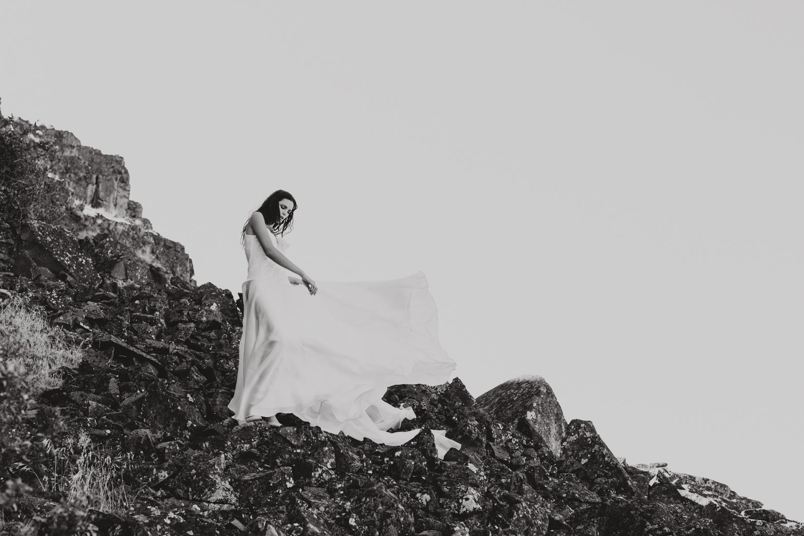 Local Portland dress designers new line of bridal magic