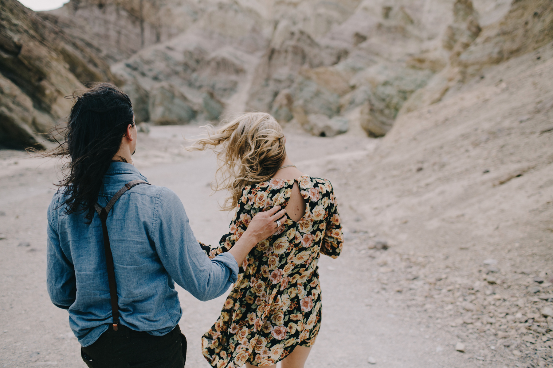 California Desert Couples Portraits