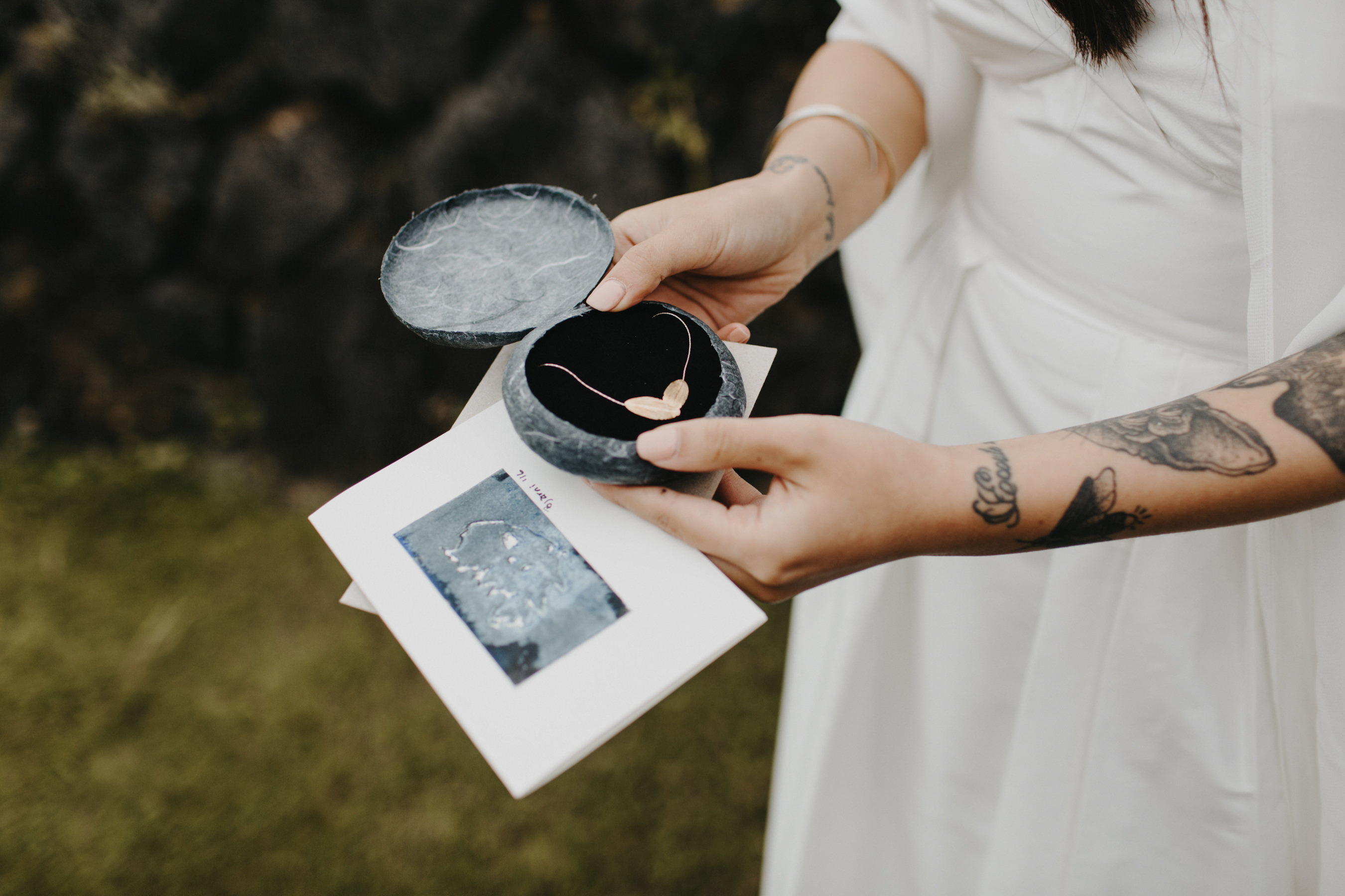 Iceland Elopement Gift Exchange