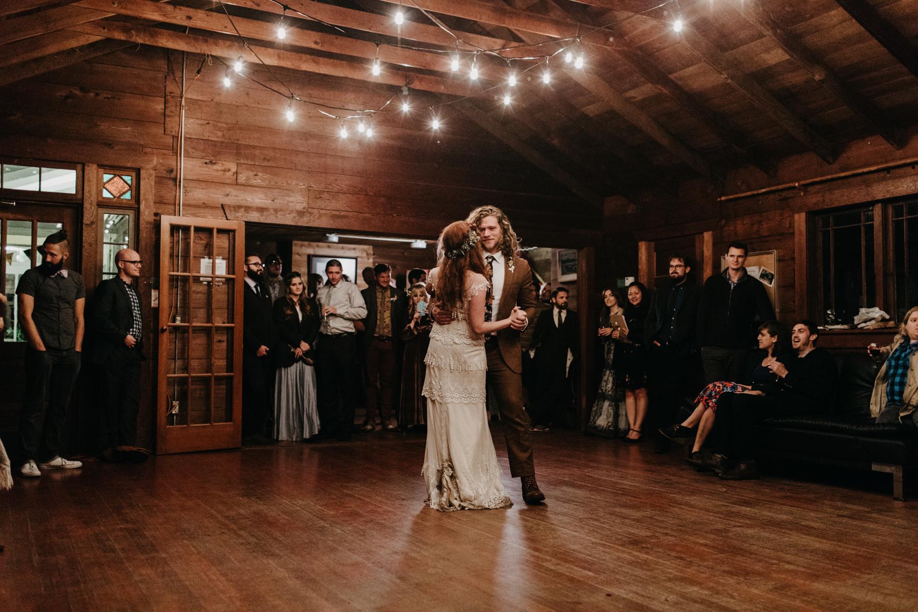 lake crescent wedding reception