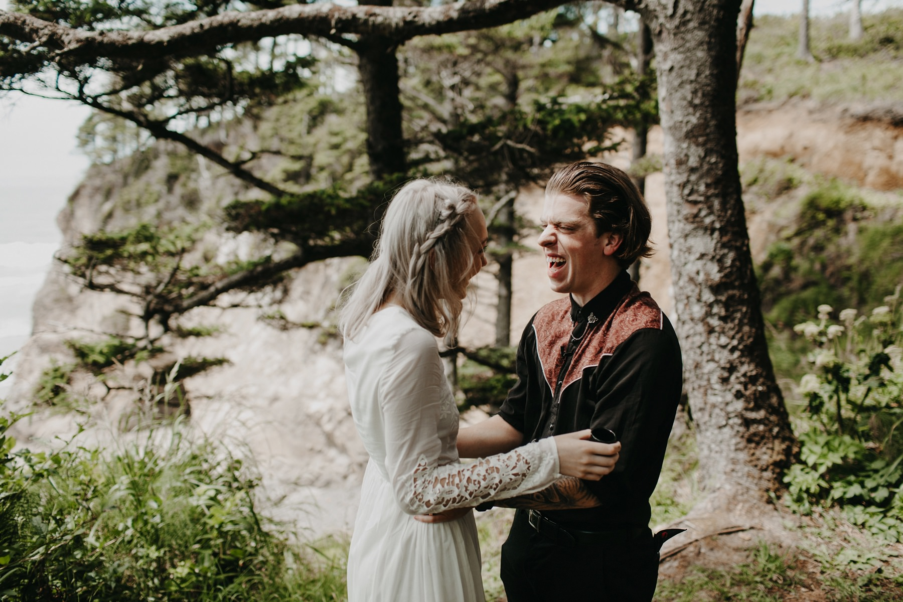 Oregon Coast Wedding