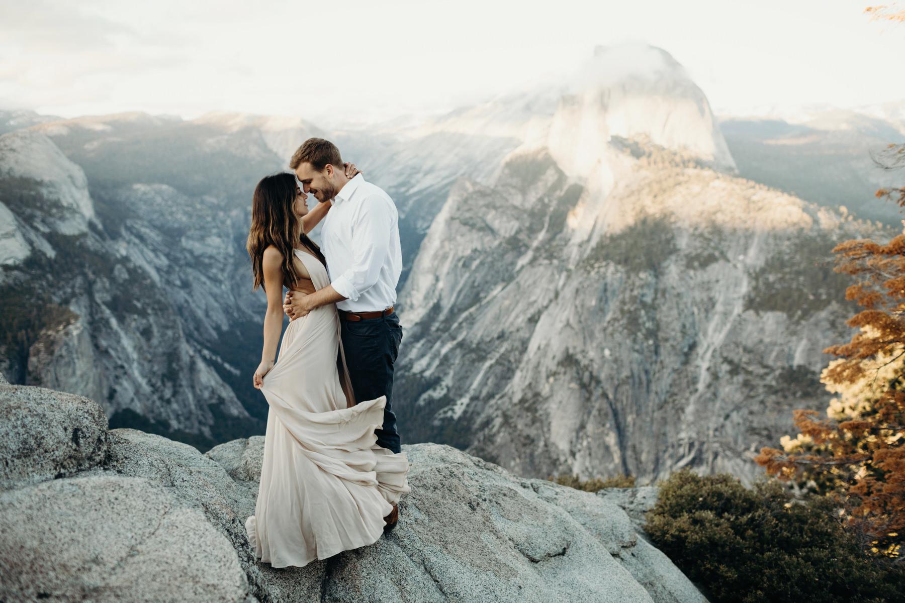Yosemite Engagement Photos - Portland Wedding Photographer