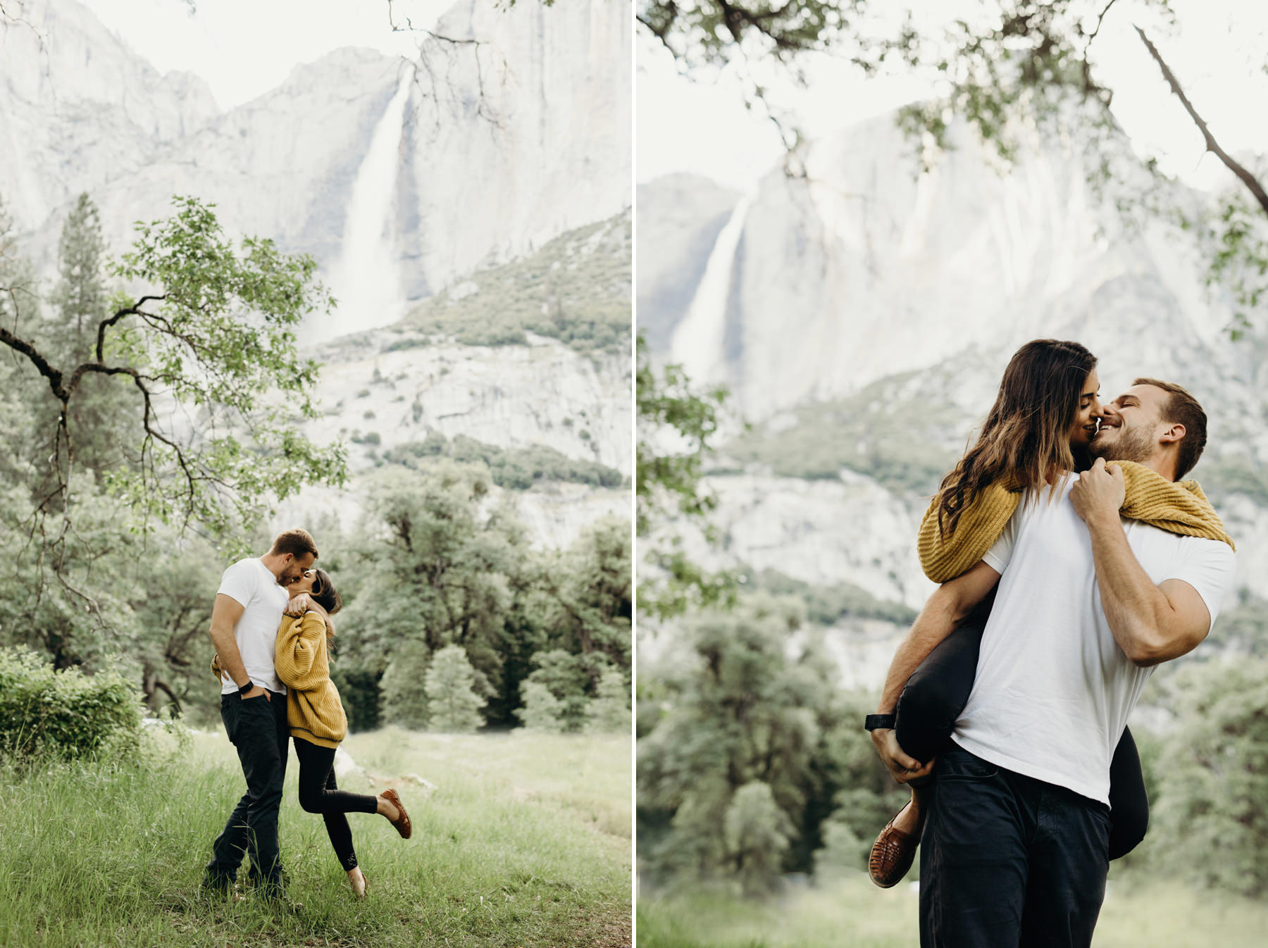 Yosemite Engagement Photos 1