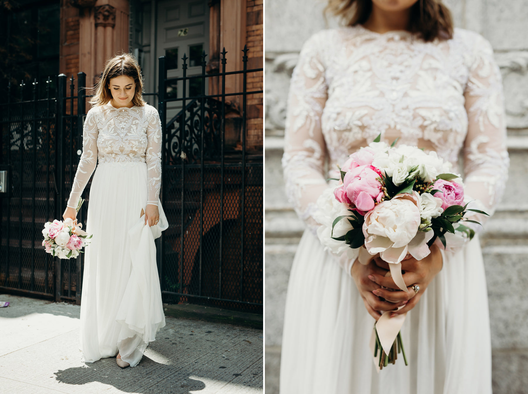 New York City Elopement Portland Wedding Photographer