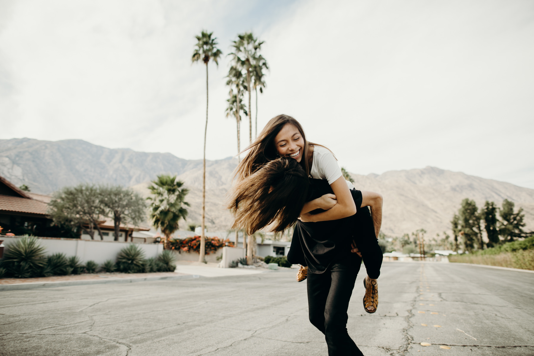 Palm Springs Engagement Photos