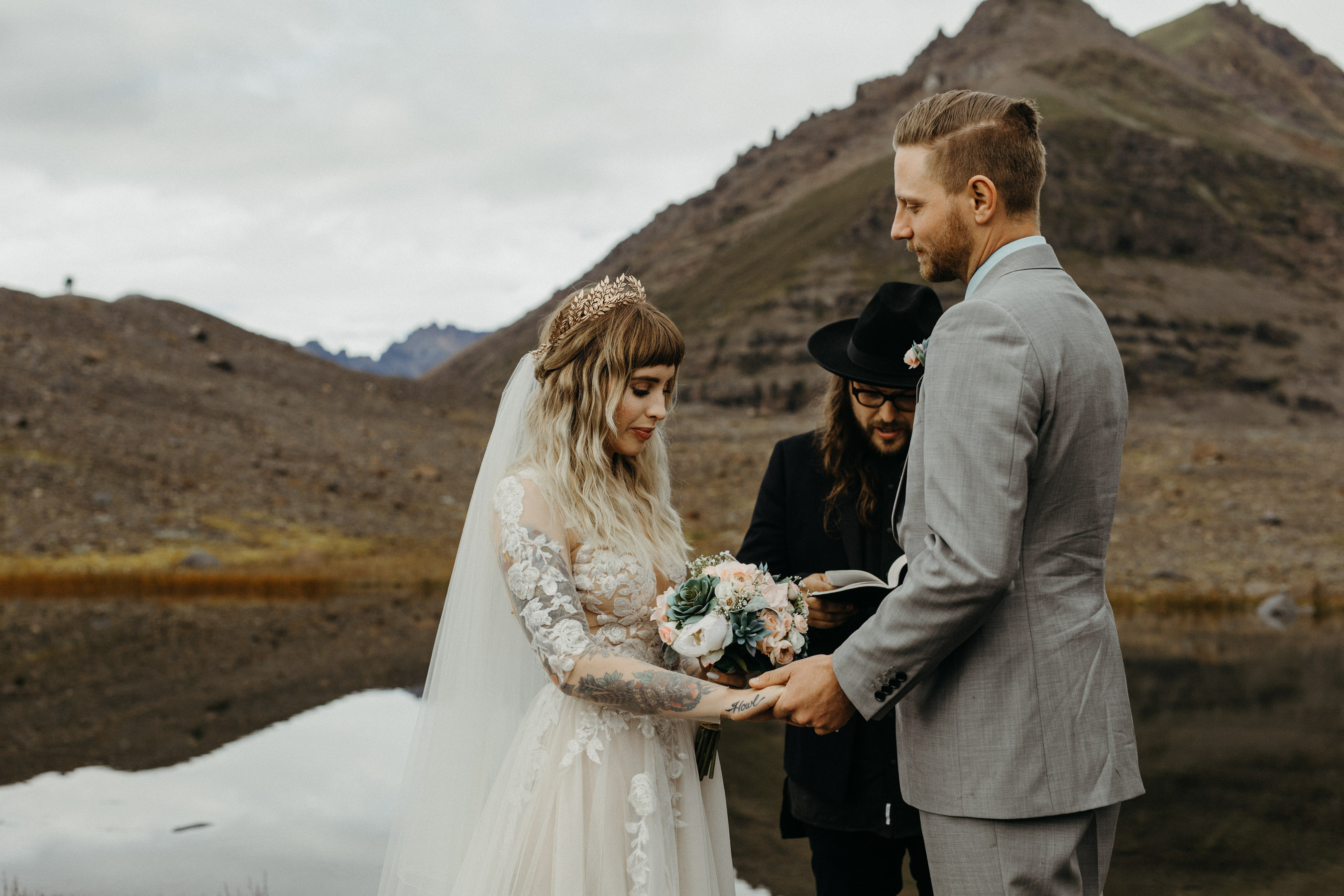 Eloping In Iceland